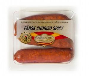 Spanien korv Farsk chorizo hot 200g-45