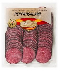 Spanien skiv Salami extra peppar 500g-1