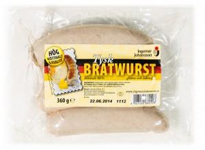 Tyskland korv Tysk Bratwurst 360g-35