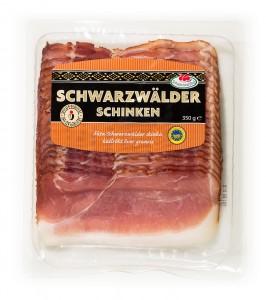 Tyskland skiv Kallrokt Schwarzwalder skinka 350g-12