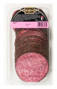 Tyskland skiv Peppar salami 450g-31