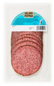 Tyskland skiv Peppar salami 80g-32